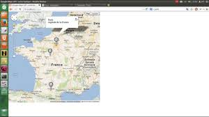 Google Maps France by