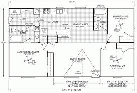 Floor Plans For Mobile Homes Double Wide Double Wide Mobile Home Floor Plans Fleetwood Mobile Home Floor