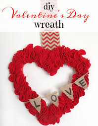 valentines day wreath diy s day heart wreath the of a boy