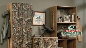 mossy oak furniture hunting storage cabinets u0026 camo furniture