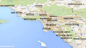 Greater Los Angeles Map by Map Of New York Neighbourhoods You Can See A Map Of Many Places