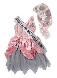 halloween zombie princess prom queen fancy dress up girls costume