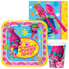 birthday party supplies trolls birthday party supplies theme party packs