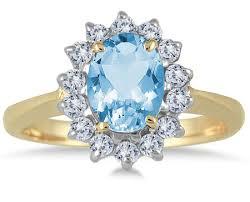 gold topaz rings images Oval blue topaz diamond ring 14k yellow gold jpg