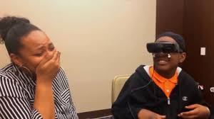 Blind People Glasses Legally Blind 5th Grader Sees Mother For 1st Time Through