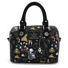 loungefly x the nightmare before character saffiano faux