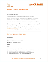 Email Address For Small Business by Business Profile Sow Template