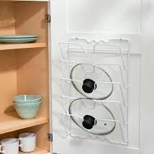 kitchen cabinet door storage racks cabinet door lid rack