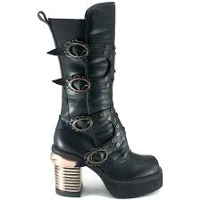 steampunk captain harajuku womens boot gothic style mid calf boot
