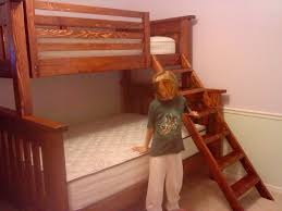 Plans For Twin Over Queen Bunk Bed by Ana White Twin Over Full Bunkbed Diy Projects