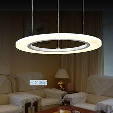 Living Room Pendant Lighting by Aliexpress Com Buy 60cm Modern Circle Led Pendant Lights 36w