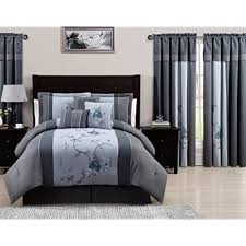 bedroom quilts and curtains bedding with matching curtains amazon com