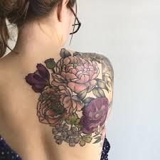 Large Flower Tattoos On - best 25 back tattoos ideas on geometric