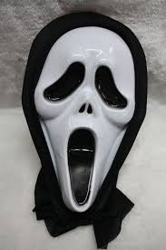 white halloween mask scary mask 1 pcs party supplies malaysia birthday party shop