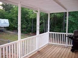 aluminum deck awnings aluminum awnings underdecking patio covers