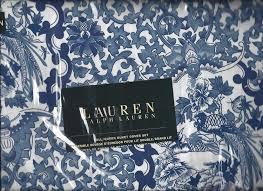 Ralph Lauren Comforter Queen Amazon Com Ralph Lauren Porcelain Blue Tamarind Birds Toile 3pc