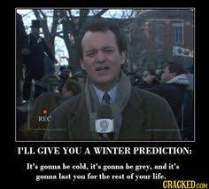 Bill Murray Groundhog Day Meme - groundhog day 2016 did punxsutawney phil predict an early spring