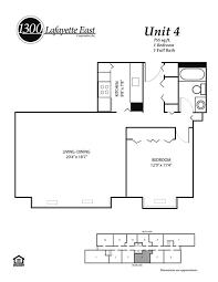 floor plans u2013 1300 lafayette east cooperative