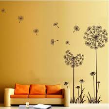 Flower Wall Decor Dandelion Flower Wall Decoration Wall Decoration Pictures Wall