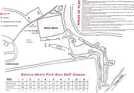 Map Of Findlay Ohio by Ottawa Park At Lima Professional Disc Golf Association