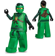Kids Ninja Halloween Costume Boys Lego Ninjago Prestige Lloyd Halloween Costume Ebay