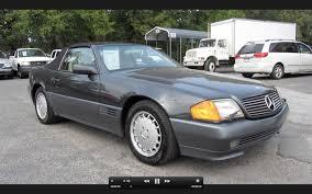 1991 mercedes benz 500sl roadster start up exhaust and in depth