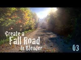 tutorial blender terrain create a beautiful fall road blender tutorial 01 terrain