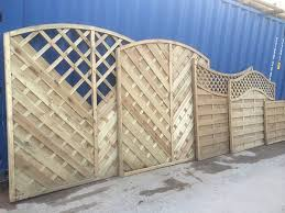 Fence Panels With Trellis Special Offers Barnard Fencing Nottingham
