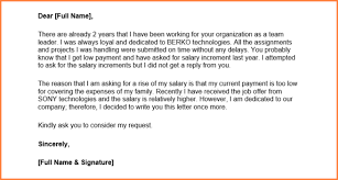 100 salary proposal letter sample 9 sales letter templates
