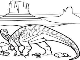 euoplocephalus coloring animal images iguanodon coloring