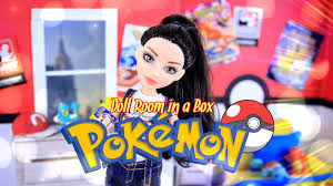 Best 40 Barbie Room Decoration by Diy How To Make Doll Room In A Box Pokemon Handmade Room