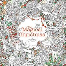 amazon magical christmas magical colouring books