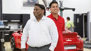 porsche mechanic salary ptrca from manila to dubai with porsche
