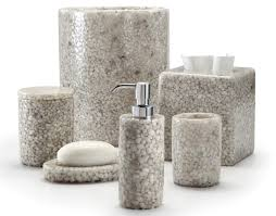white marble bathroom accessories sets luxury bathroom sinks
