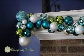 ornament garland for the mantle designing wilder