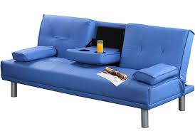 Modern Faux Leather Sofa Blue Manhattan Modern Faux Leather Sofa Bright Beautiful Cinema
