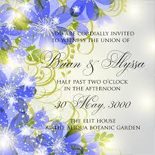 beautiful flowers wedding invitation card vector set 03 welovesolo