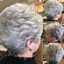 short curly hair cuts for women over 60 best old lady grey hair wig pinteres
