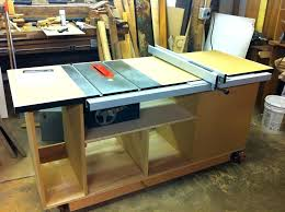 how to build a table saw workstation table saw stand plans medicaldigest co