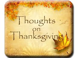l k hill thoughts for thursday thanksgiving edition