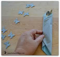 fold napkins silverware how to make paper napkins special