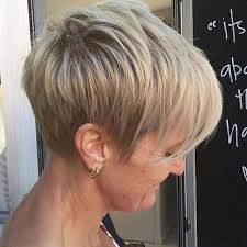 short sassy hair cuts for women over 50 with thinning hairnatural 30 chic and classy short hairstyles for women over 50