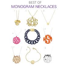 monogram necklaces affordable monogram necklace on point
