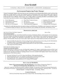 pollution control engineer cover letter