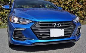 hyundai compact cars 2017 hyundai elantra sport road test carcostcanada