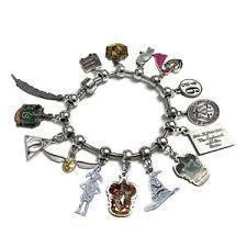s charm bracelet harry potter officially licensed charm bracelet pandora s