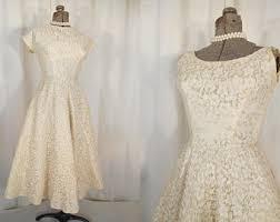 50 S Wedding Dresses 50s Wedding Dress