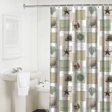 Coastal Shower Curtain by Seaside Shower Curtains Seaside Shower Curtain At Hayneedle