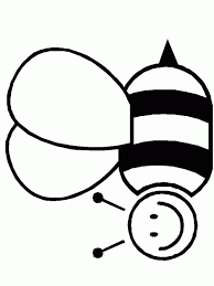 bee coloring 2 clip art library