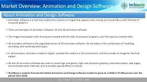 global animation and design software market 2014 2018